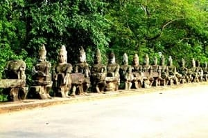 Cambodge Siem Reap temple Angkor Thom 3