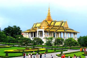 Cambodge-Phnom-Penh-Palais-Royal-