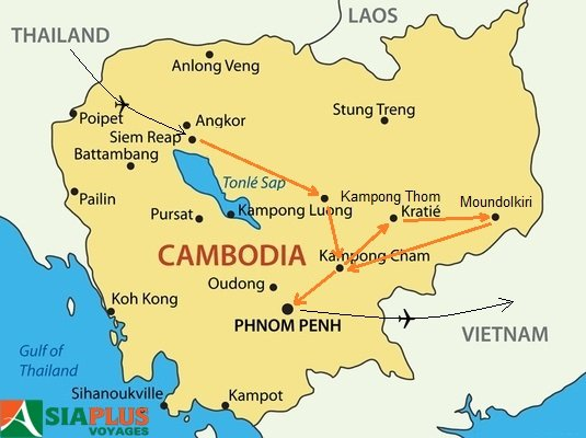 2016_TOURMAP-CAMBODGE-Les-Merveilles-du-Cambodge-13-jours Voyages Cambodge