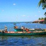Cambodge-bateaux