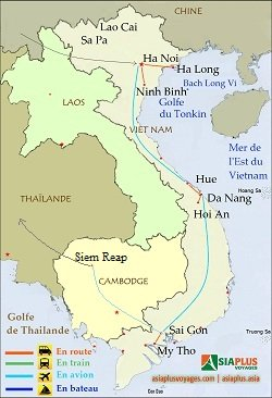 Vietnam-Cambodge12-jours-1- Voyage Vietnam Cambodge