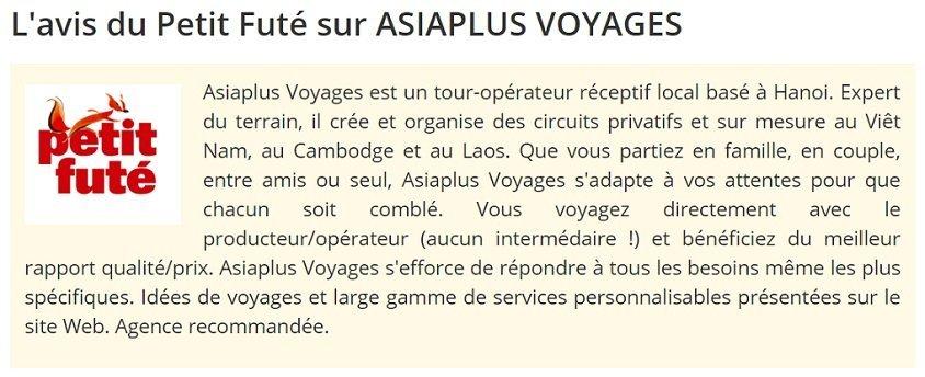 L'avis-du-Petit-Futé-sur- ASIAPLUS VOYAGES - Agence receptive