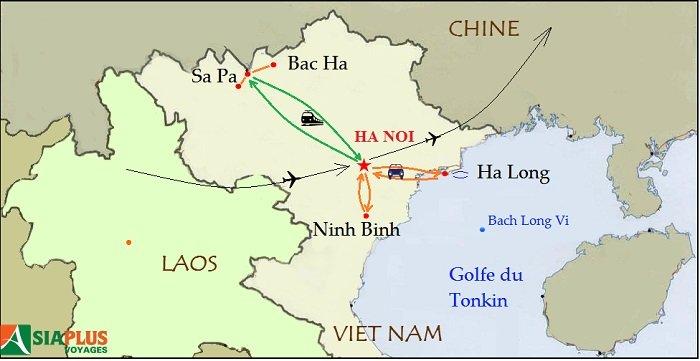 Carte-Randonnee-a-Sa-Pa-Lao-Cai-Vietnam