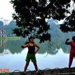 Asiaplus-Voyages-Hanoi-lac-Hoan-Kiem-Gymnastique