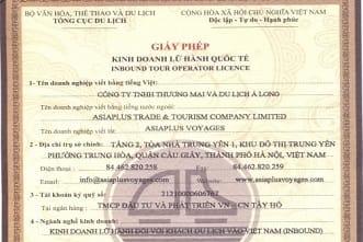 Asiaplus Voyages - Licence de tour opérateur international du Vietnam-2-min