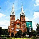 Circuit au Vietnam-Asiaplus-Voyages-Vietnam-Saigon-Cathedrale-Notre-Dame2