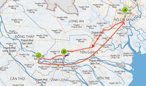 Asiaplus-Voyages-Vietnam-Croisière Delta du Mékong-Jonque-Caibe-SaDec-2jours