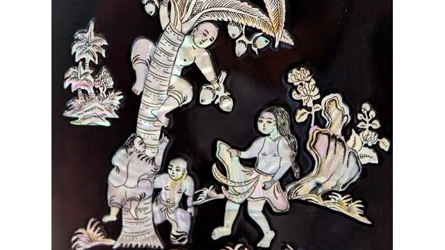 Laque de Chuyen My - Hanoi