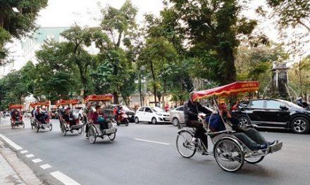 Cyclo pousse - Politique d'exemption de visa Vietnam