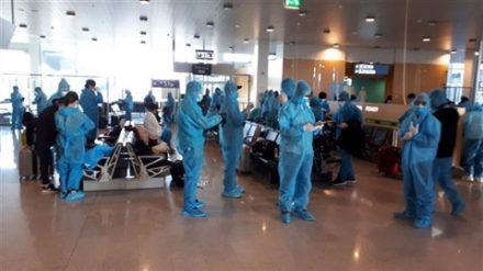Covid-19-Les Vietnamiens revenus de l'étranger sont tous mis en quarantaine